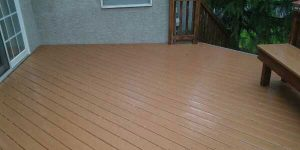 Composite deck cleaning in PA, NJ, DE