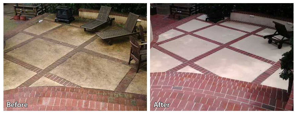 Concrete Power Washing | Rolling Suds Inc  serving the