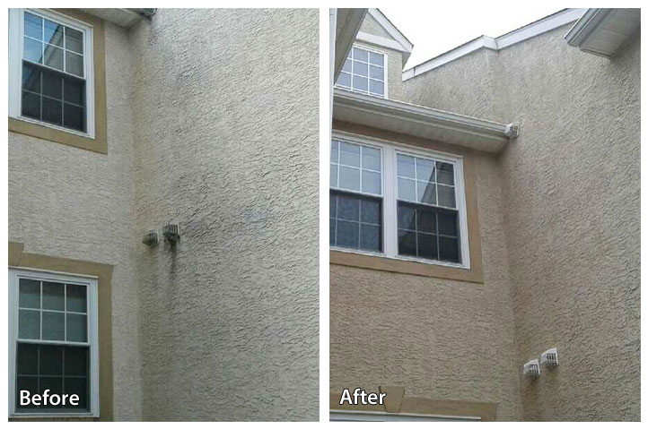 Best Pressure Washing a Stucco Home - Rolling Suds VO42