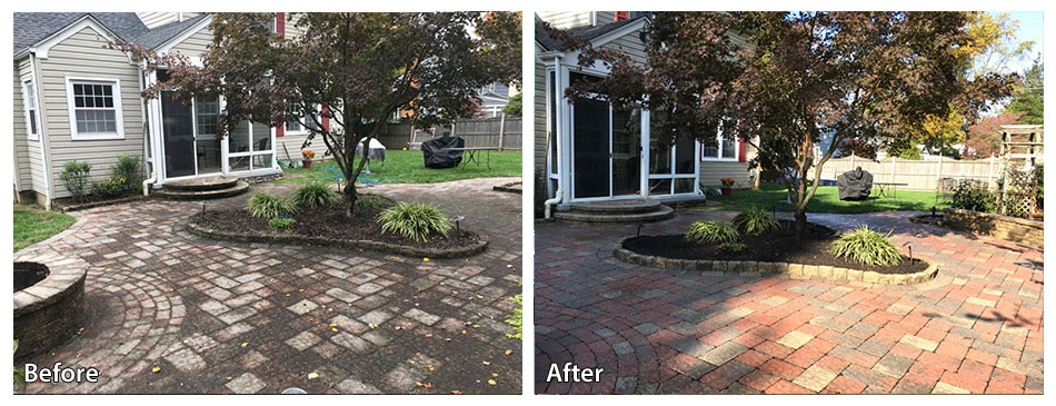 Before and After Stone Yard
